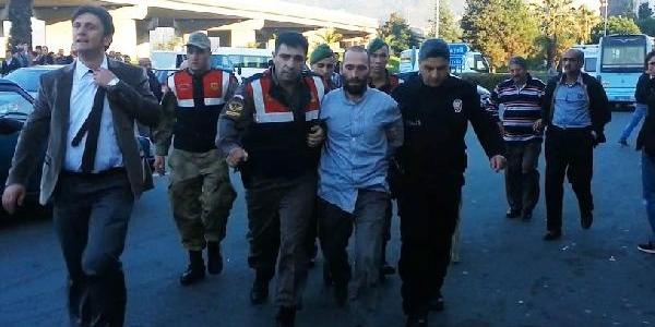 Rize'De Mahkum Firara Kalkişti