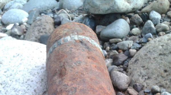 Rize'de Patlamamış Havan Mermisi İmha Edildi