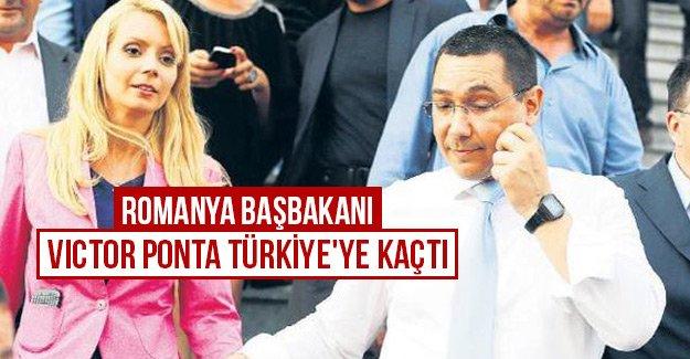 Romanya Başbakanı Victor Ponta Türkiye'ye kaçtı
