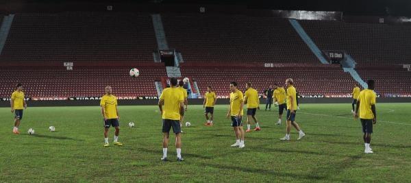 Rostov Trabzonspor Maçının Hazırlıklarını Tamamladı
