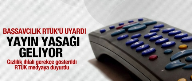RTÜK'ten medyaya operasyon uyarısı...