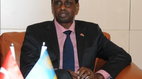 Ruanda Büyükelçisi Ilk Ziyaretini Kayseri'Ye Yapti