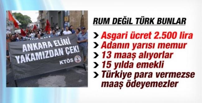 Rum değil 'Türk' bunlar!