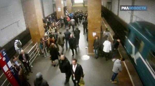 Rus Polisinden Metroda Ilginç Sürpriz