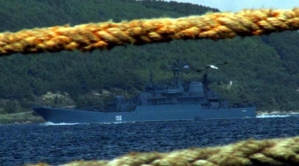 Rus Savaş Gemileri Akdeniz'e İniyor