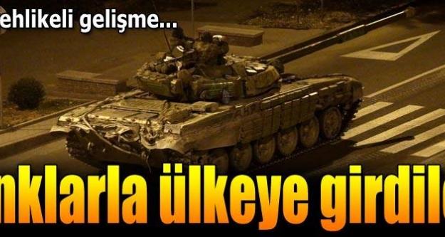 Rus tankları Ukrayna'ya girdi iddiası!