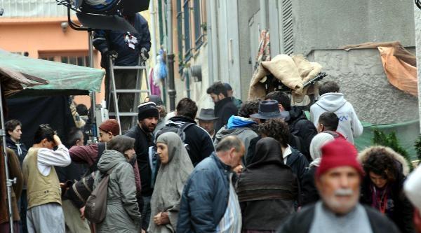 Russell Crowe, Filminin Çekimlerini Fatih'in  Fener Semtinde Sürdürüyor