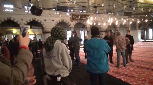 Russell Crowe Sultanahmet Camii'nde