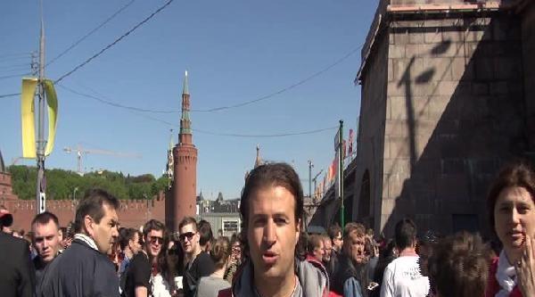 Rusya Büyük Zaferinin 69.yılını Kutluyor