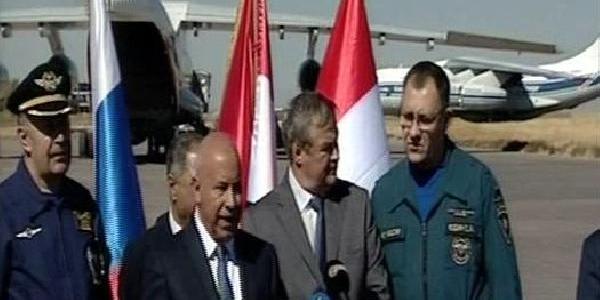 Rusya, Irak'Taki Suriyeli Göçmenler Için Yardim Uçaği Gönderdi
