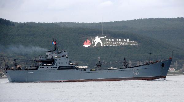 Rusya Savaş Gemilerini Karadeniz'e Çekiyor- Ek Fotoğraflar