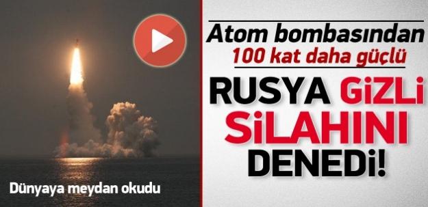 Rusya'dan nükleer başlıklı füze denemesi