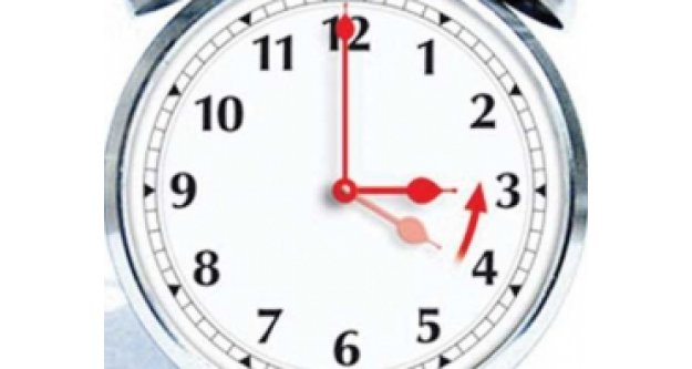 Saatlerinizi geri almayı sakın unutmayın!