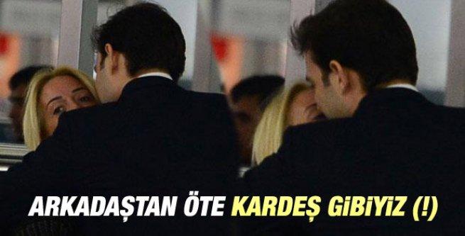 Saba Tümer ile Mehmet Aslan havaalanında görüntülendi