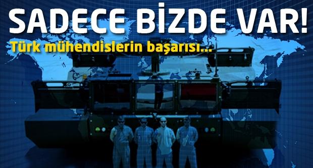 Sadece bizde var! Türk mühendislerin başarısı...
