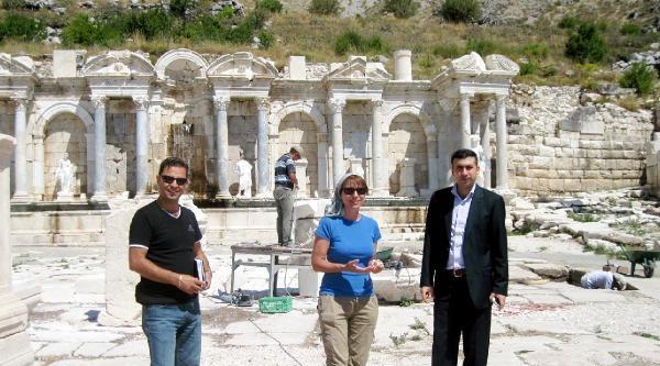 Sagalassos Antik Kenti Kazıları Sürüyor