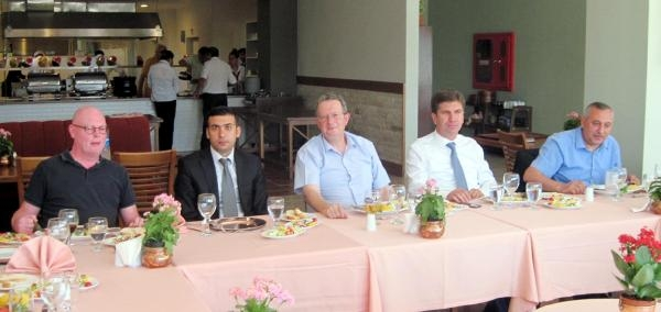 Sagalassos'a 7 Büyükelçiden Ziyaret