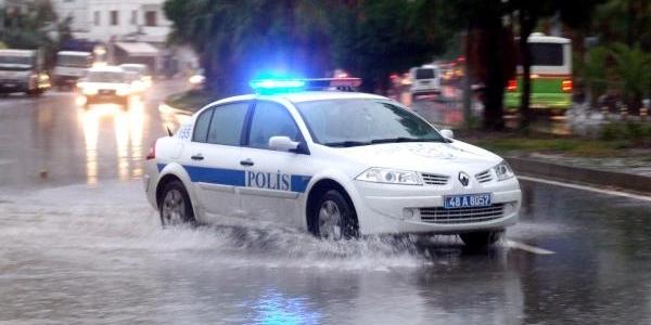 Sağanak Yağmur Bodrum'u Vurdu / Ek Fotoğraflar