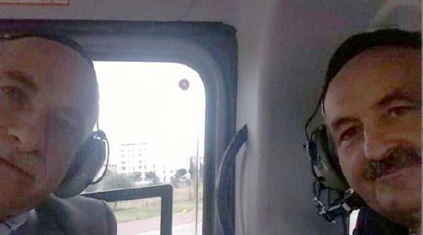 Sağlık Bakanından Helikopter Selfiesi