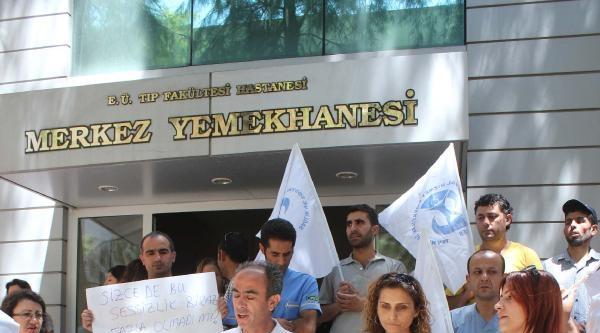 Sağlık Çalişanlarindan İsrail Tepkisi