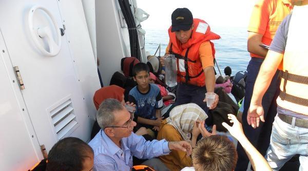 Sahil Güvenlik Ege'de 116 Kaçak Yakaladı