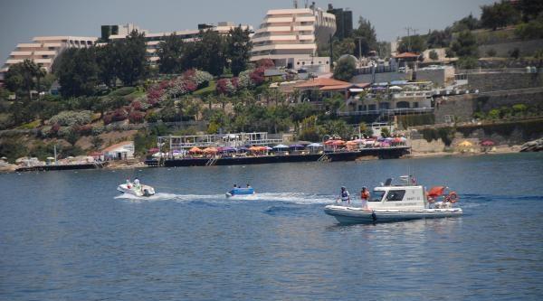 Sahil Güvenlik Ekipleri Turizmcileri Denetledi