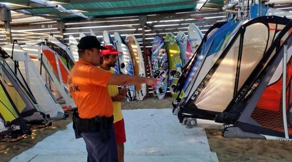 Sahil Güvenlik'ten Turistik Tesis Ve Plajlarda Denetim