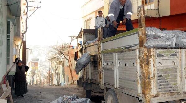 Şahinbey'de 18 Bin 500 Aileye Kömür Dağitildi