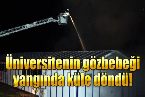 Sakarya Üniversitesi'nde güneş ve hidrojen enerjisiyle çalışan arabalar yandı
