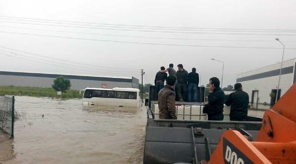 Sakarya'da Dereler Taştı, Birçok Köyü Sel Suları Bastı (3)