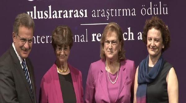 Sakıp Sabancı Uluslararası Araştırma Ödülleri Törenle Verildi