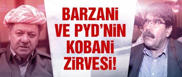 Salih Müslim ve Barzani'den Kobani zirvesi!