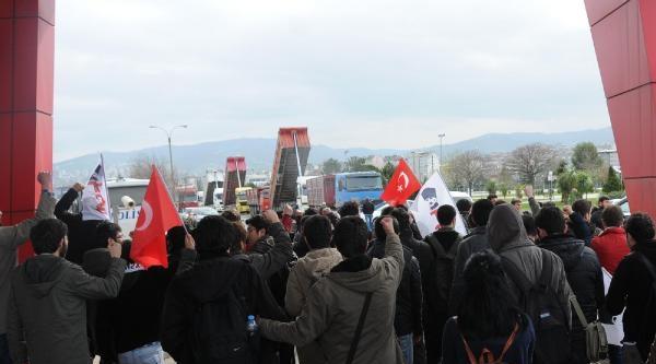 Samsun'da Abd Savaş Gemisine Tepki