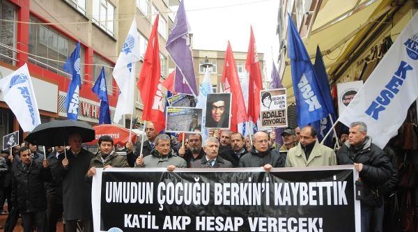 Samsun'da Berkin Elvan İçin Oturma Eylemi