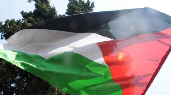 Samsun'da Cuma Namazı Çikişi İsrail Protestosu