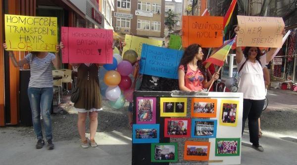 Samsun'da 'direniyoruz Ayol' Eylemi
