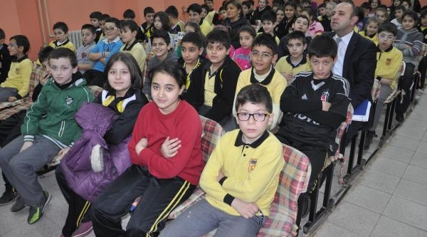 Samsun'da Ilkokul Öğrencilerine Girişimcilik Eğitimi