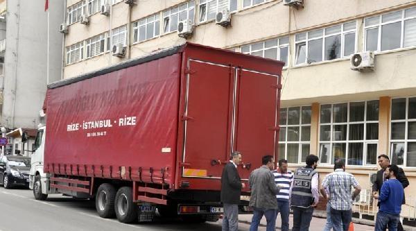 Samsun'da Kaçak Sigara Operasyonu