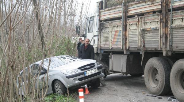 Samsun'da Kaza : 4 Yaralı