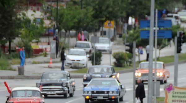Samsun'da Klasik Otomobil Turu