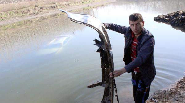 Samsun'da Otomobil Yeşilırmak'a Uçtu : 2 Yaralı