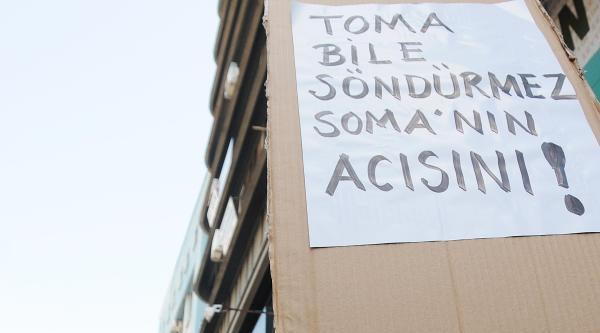 Samsun'da Soma İçin Yürüdüler