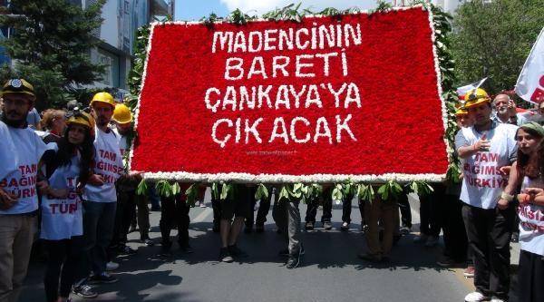 Samsun'dan Yola Çikan Tgb'liler Anıtkabir'e Kadar Yürüdü