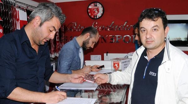Samsunspor-ankaraspor Biletleri Satışa Çikti