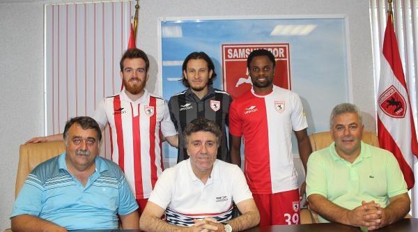 Samsunspor'da Son 3 Transfer