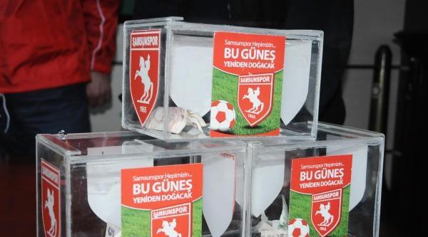 Samsunspor'un Ankara Deplasmanı İçin 5 Ayrı Yere Yardım Kutusu