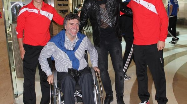 Samsunspor'un Ilk Transferi Tuna Kampa Katildi