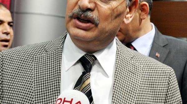 Şanliurfa Valisi, Ak Parti'den Aday Olmak Için Istifa Etti