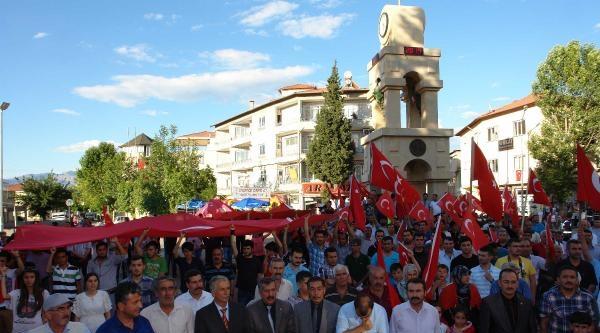 Şanliurfa Ve Adıyaman'da 'bayrak' Protestosu (2)