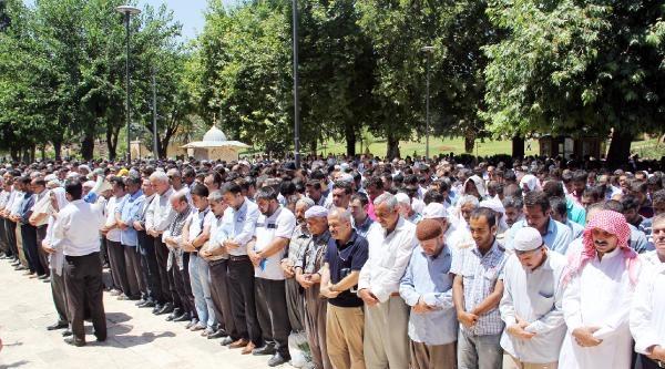 Şanliurfa Ve Adıyaman'da İsrail Protestosu